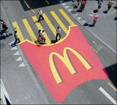 mac do street art marketing