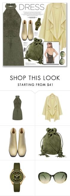 """""""LOVE YOINS"""" by nanawidia ❤ liked on Polyvore featuring Hunting Season, Michele and Victoria Beckham"""