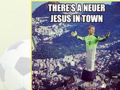Fußball Halbfinale 2014 Jesus