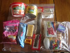 72 hour food kits...this Utah Mom of 7 really knows her stuff.  These kits are great...they actually have enough calories each day to sustain you!!!