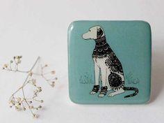FREE SHIPPING Dalmatian gift magnet Dog magnet gift Animal fridge magnet Cute magnet  Glass magnet (0033), kitchen magnet