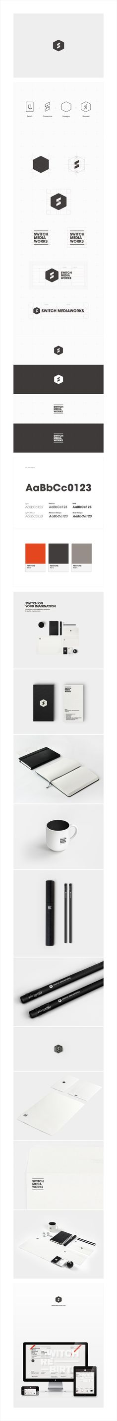 2013 brand renewal, switch mediaworks on Behance