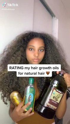 Natural Hair Growth Tips, Hair Growth Oil, Natural Hair Styles, Curly Hair Tips, Curly Hair Care, Curly Hair Styles, 4c Hair, Hair Growing Tips, Grow Hair