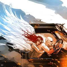 Mad Max Fury Road Nux angel guardian by maXKennedy.deviantart.com on @DeviantArt