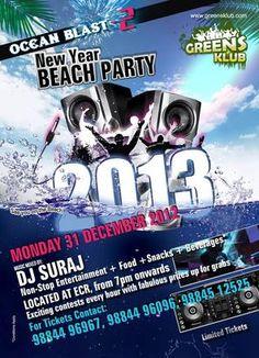 Ocean Blast , Green Klub, Chennai