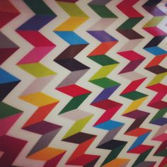 Platter design from French Bull #zigzag
