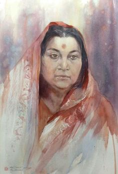 Sahaja Yoga Meditation, Shri Mataji, Spiritual Gifts, Ganesh, Deities, Art Forms, Spirituality, Paintings, Beauty