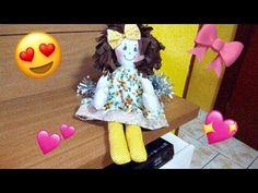passo a passo da boneca de pano, como fazer uma linda boneca de pano - YouTube