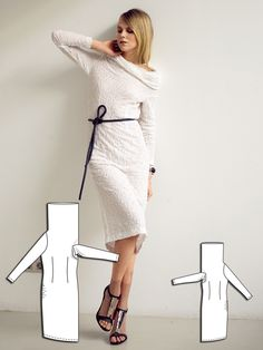 Read the article 'Solo in White: 13 Contemporary Women's Sewing Patterns' in the BurdaStyle blog 'Daily Thread'.