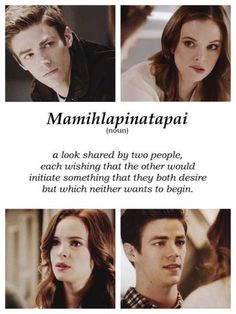 I miss these kind of moments from them. I need #Snowbarry!!