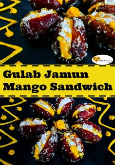 Want to treat your father to some delectable food this father's day? These Gulab Jamun stuffed with the goodness of mango and milk are the best thing you can gift him! #fathersday #mango #indian #dessert