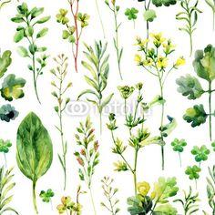 Materiał do szycia Watercolor meadow weeds and herbs seamless pattern. Zobacz materiały do szycia drukowane na zamówienie autora tanycya. Zamów bawełniany materiał do szycia z wzorem w akwarela, kwiat, kwiatowy, zioło, trawa, ziołowy, łąka, bezszwowe, wzór, tło, pole, las, liść, banan zwyczajny, paproć, koper, gałązka, dziki, farba, roślina, kwitnąć, ilustracja, projektować, eko, szkic, zielony, ogród, sztuka, zboże, notatnik, element, rysunek, sezon, flora, kolor, chwast, sylwetka…