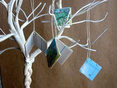 Map Book Ornaments.
