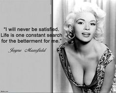 Jayne Mansfield quote