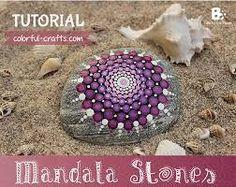 """Résultat de recherche d'images pour """"tutoriel mandala stones"""""""