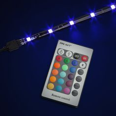 Multi-Color LED Lighting Kit :: ThinkGeek  We bought this at Costco for $19.95
