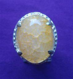 Cincin Batu Akik Sarang Tawon
