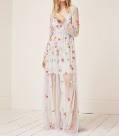 high-street wedding dresses: French Connection Christy Bloom Dress