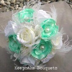 Vintage 58 Silk Wedding Bouquets, Wedding Flowers, Flax Flowers, Vintage Theme, Vintage Weddings, Bridal Flowers