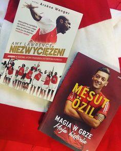 Nowe do papierowej kolekcji.  #neiraczyta #books #Arsenal #MÖ11 #football #supporter #reading #WydawnictwoSQN