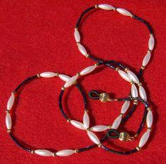 Handmade Pearl Lanyard  Outstanding Eyeglass by JewelryArtistry