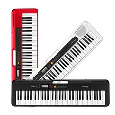 Casio Casiotone CT-S200 |best small portable piano keyboard – Allegro Keys Best Digital Piano, Digital Piano Keyboard, Keyboard Piano, Portable Piano, Cool Tech Gifts, Dance Music, Lego Sets, Casio, Songs