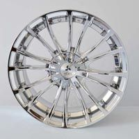 "MODEL : Stryke-4 RIM SIZE : 18"" x 8"" RIM ET : 35 RIM HOLE : 8 x 100/114.3 RIM HUB : 67.1 COLOR : VACUUM CHROME PRICE : 128.69 $"