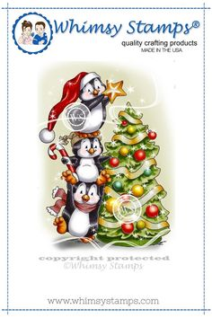 *NEW Penguins Decorate the Tree