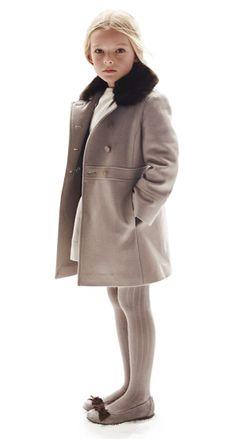 Little Socialites wear elegant coats for evening play dates. xoSocialite