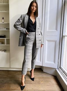 Business Casual Outfits For Work, Business Outfits Women, Office Outfits Women, Work Casual, Business Fashion, Stylish Outfits, Women Business Casual, Business Professional Women, Formal Business Attire