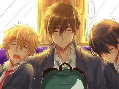 Nagisa, Makoto, Haruka.