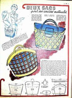 Vintage Fur, Vintage Purses, Vintage Bags, Vintage Handbags, Bag Patterns To Sew, Vintage Sewing Patterns, Patron Vintage, Diy Bags Purses, Blog Couture