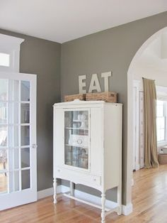 City Farmhouse: Kitchen Paint-Texas Leather