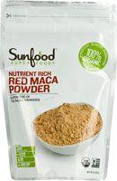 SunFood Red Maca Powder Organic