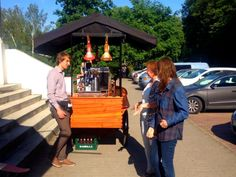 Galeria - La Cafeine, coffe bike, mobile, Poland