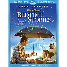 Disney Bedtime Stories - 3-Disc Blu-ray Set | Disney StoreBedtime Stories - 3-Disc Blu-ray Set - A magical family comedy packed with adventure and lots of heart. An uncle tells elaborate bedtime stories -- always casting himself as the hero. Then something magic happens...