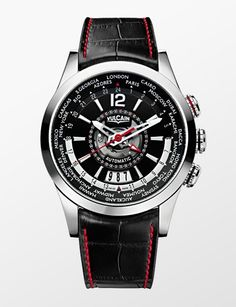 Vulcain Revolution GMT Automatic Steel http://alwaysfashion.com/p/297/revolution-gmt-automatic-steel