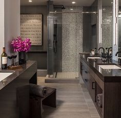 Luxe Loft Bath   Contemporary   Bathroom   Minneapolis   By LiLu Interiors.  Find This Pin And More On Decorating Ideas For My Dream Ranch Home ...