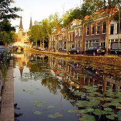 My grandparents, Daniel and Marie Dykesman, lived on a street just like this one in Delft Holland. It could be this one I guess.it looks like the year old boys memory' that has been stuck in my head since the GAC Wonderful Places, Great Places, Places To See, Beautiful Places, Beautiful Streets, Places Around The World, Travel Around The World, Around The Worlds, Dream Vacations