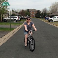 @nikijohnson99 saves energy by riding her bike when she can instead of driving. #RiceSelectEcoChallenge #Day4 #SaveEnergy #Earth