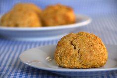 Pumpkin scones. Simple ingredients, irresistible taste. (And secretly healthy too!)