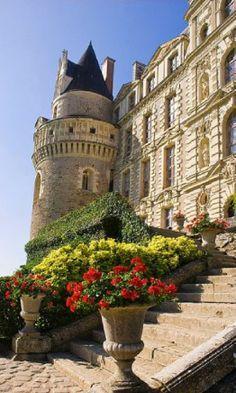 Chateau de Brissac, Loire Valley, France