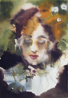 surrounded Watercolor Paintings, Watercolors, Saatchi Art, Drawings, Artist, Faces, Water Colors, Sketches, Face