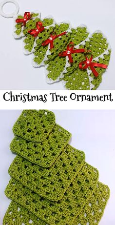 What a lovely and adorable crochet Christmas tree! You can use them as Christmas tree ornaments - SalvabraniNO PATTERN. Need to figure out - SalvabraniBy Celina Crochet & Arts. Crochet Christmas Decorations, Christmas Tree Pattern, Crochet Christmas Ornaments, Christmas Crochet Patterns, Holiday Crochet, Crochet Gifts, Christmas Crafts, Christmas Christmas, Theme Noel
