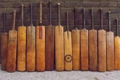 Vintage Cricket Bats  Genuine old English by SportingAntiques, £35.00