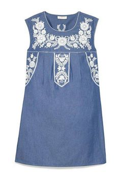 Perfect Dresses for Spring - Denim Days