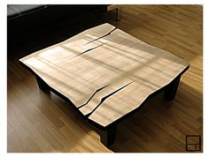 Modern abstract coffee table by mstrf