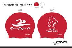 Bonnets de bain silicone et bonnets de natation personnalisés - La passion du Triathlon, Trail, Natation, Running