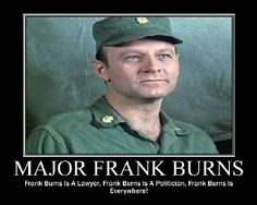 Major Frank Burns