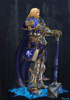 Warcraft Fan Art Gallery - Prince Arthas [blizz-art.com] Illustration de Puly